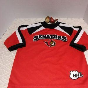 Ottawa Senators Mighty Mac jersey-EUC